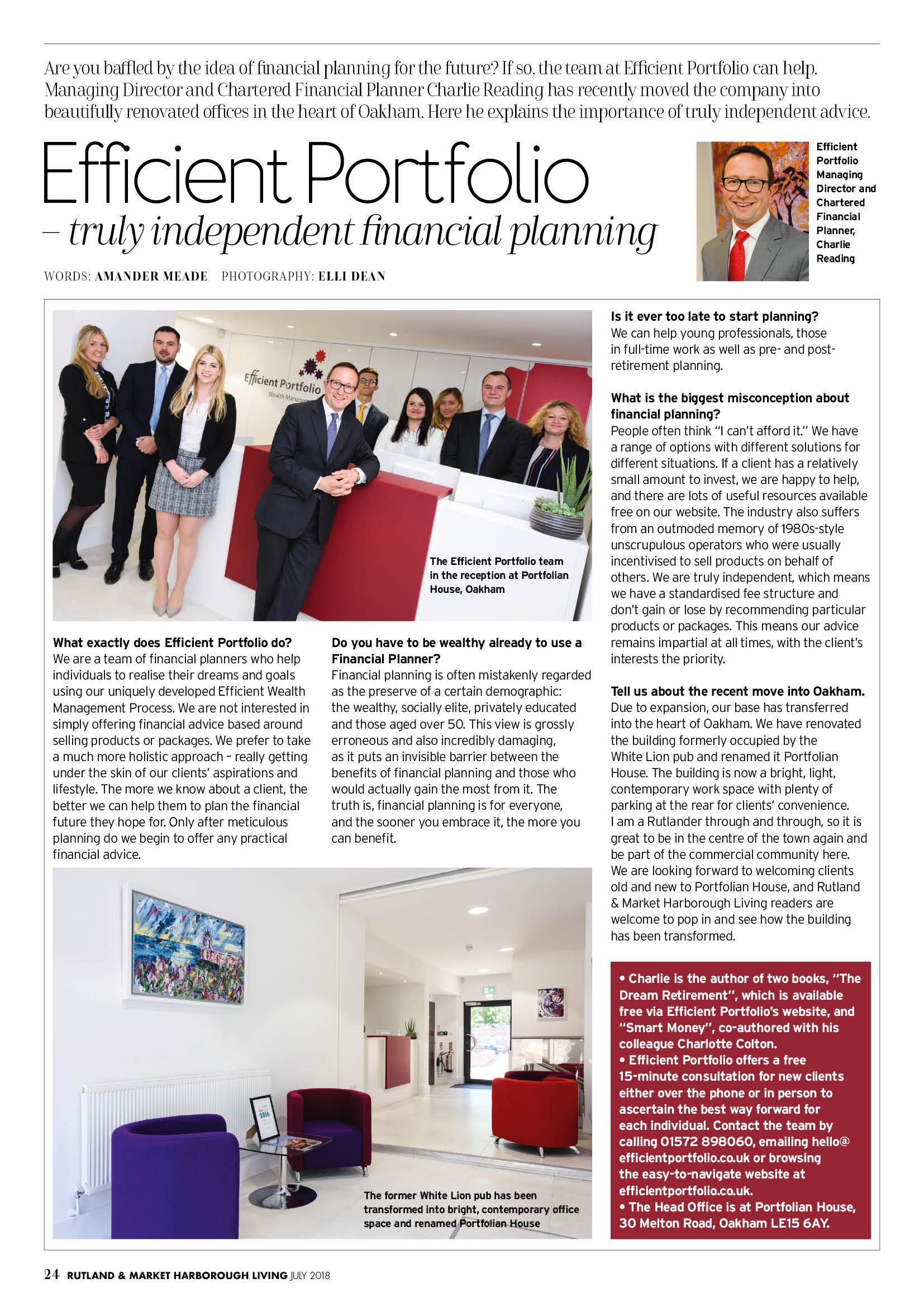 Independent Financial Planning Rutland