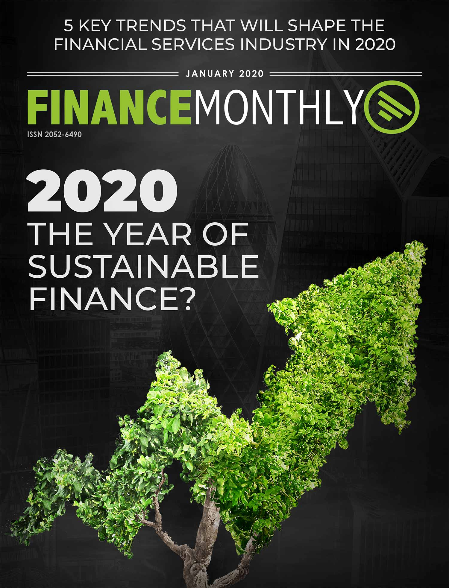Cover article in Finance Monthly